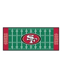 San Francisco 49ers Field Runner Rug by