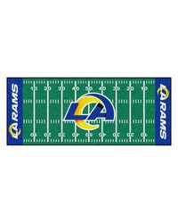 St Louis Rams Field Runner by