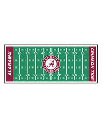 Alabama Crimson Tide Field Runner Rug by