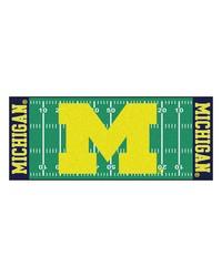 Michigan Wolverines Field Runner Rug by