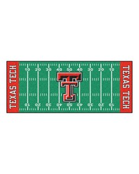 Texas Tech Red Raiders Field Runner Rug by
