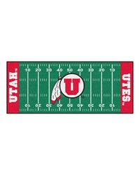 Utah Utes Field Runner Rug by