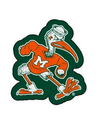 Miami Mascot Mat Approx. 3 ft x 4 ft by
