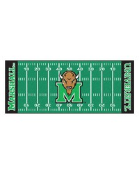 Marshall Thundering Herd Field Runner Rug by