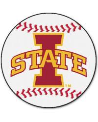 Iowa State Baseball Mat 26 diameter  by