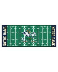 Notre Dame Fighting Irish Field Runner Rug by