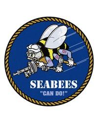 Navy 44 Round Rugs 44 diameter by