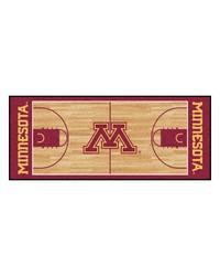 Minnesota Golden Gophers Court Runner Rug by