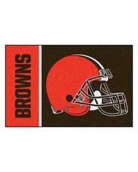Cleveland Browns Uniform Starter Rug by