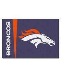 Denver Broncos Uniform Starter Rug by