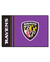 Baltimore Ravens Uniform Starter Rug by