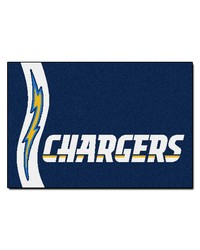 San Diego Chargers Uniform Starter Rug by