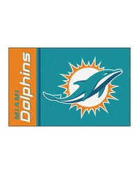 Miami Dolphins Uniform Starter Rug by
