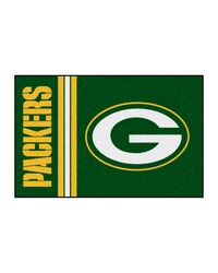 Green Bay Packers Uniform Starter Rug by
