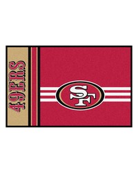 San Francisco 49ers Uniform Starter Rug by