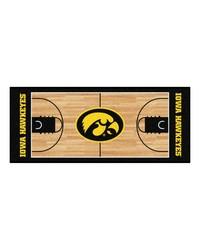 Iowa Hawkeyes Court Runner Rug by