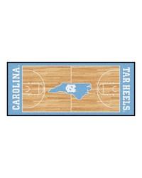 North Carolina Tar Heels Court Runner Rug by