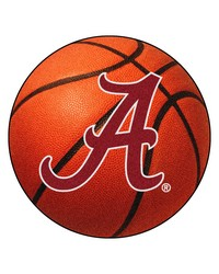 Alabama Crimson Tide A Basketball Rug by