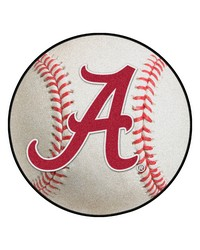Alabama Crimson Tide A Baseball Rug by