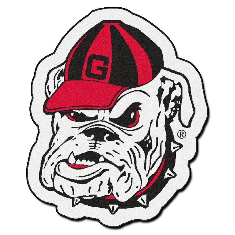 Georgia Bulldogs Mascot Rug