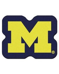 Michigan Wolverines Mascot Rug by