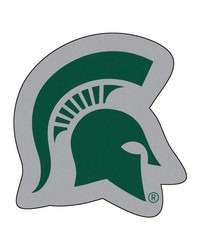 Michigan State Spartans Mascot Rug by