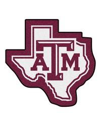 Texas AM Aggies Mascot Rug by