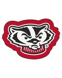 Wisconsin Badgers Mascot Rug by