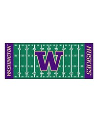 Washington Huskies Field Runner Rug by