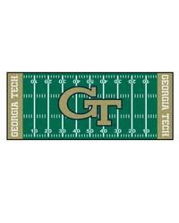 Georgia Tech Yellow Jackets Field Field Runner Rug by