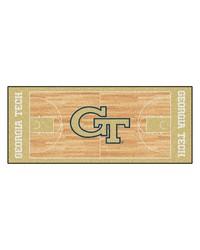 Georgia Tech Yellow Jackets Court Runner Rug by
