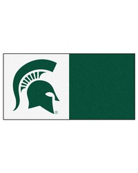 Michigan State Carpet Tiles 18x18 tiles by