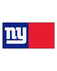 NFL New York Giants Carpet Tiles 18x18 tiles by