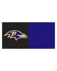 NFL Baltimore Ravens Carpet Tiles 18x18 tiles by
