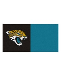 NFL Jacksonville Jaguars Carpet Tiles 18x18 tiles by