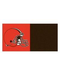 NFL Cleveland Browns Carpet Tiles 18x18 tiles by