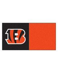 NFL Cincinnati Bengals Carpet Tiles 18x18 tiles by