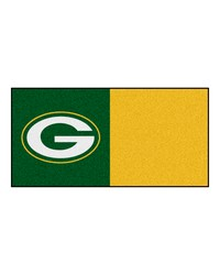 NFL Green Bay Packers Carpet Tiles 18x18 tiles by