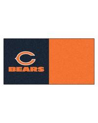 NFL Chicago Bears Carpet Tiles 18x18 tiles by
