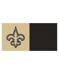 NFL New Orleans Saints Carpet Tiles 18x18 tiles by