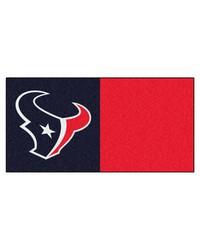 NFL Houston Texans Carpet Tiles 18x18 tiles by