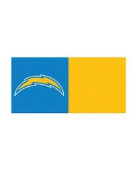 NFL San Diego Chargers Carpet Tiles 18x18 tiles by