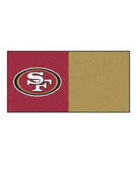 NFL San Francisco 49ers Carpet Tiles 18x18 tiles by