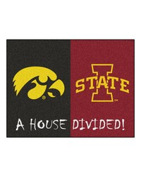 Iowa Iowa State House Divided Rugs 34x45 by