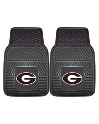Georgia Heavy Duty 2Piece Vinyl Car Mats 18x27 by