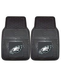 NFL Philadelphia Eagles Heavy Duty 2Piece Vinyl Car Mats 18x27 by