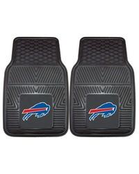 NFL Buffalo Bills Heavy Duty 2Piece Vinyl Car Mats 18x27 by