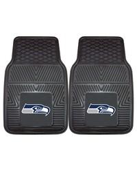NFL Seattle Seahawks Heavy Duty 2Piece Vinyl Car Mats 18x27 by