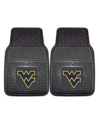 West Virginia Heavy Duty 2Piece Vinyl Car Mats 18x27 by