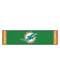 NFL Miami Dolphins PuttingNFL Green Runner by